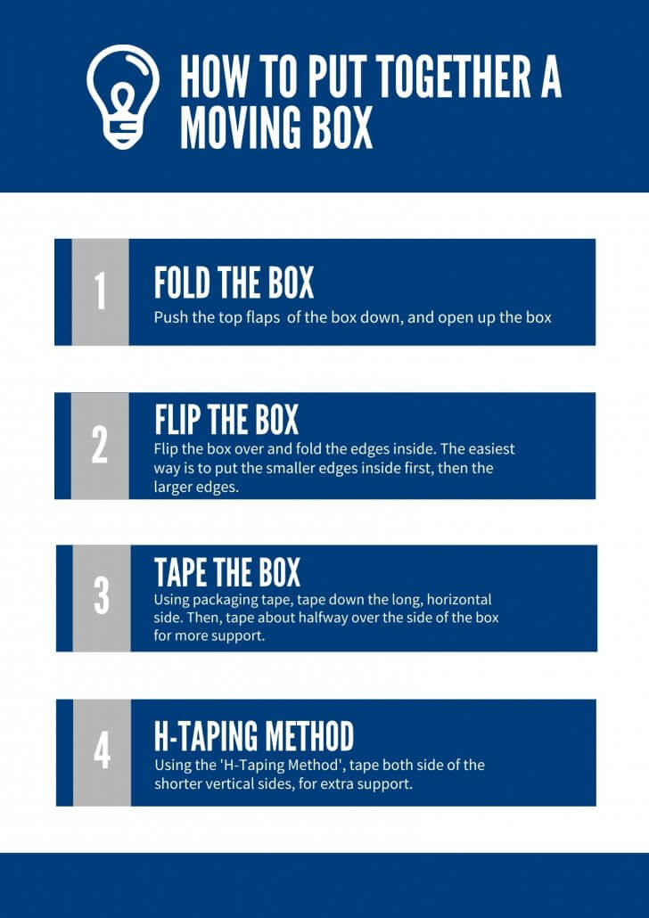 How to Put Together a Moving Box